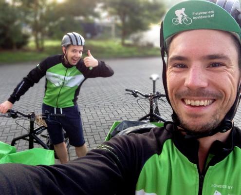 Freek fietskoerier