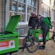 Snel groeiende Fietskoeriers gaan elektrisch op groene stroom van deA